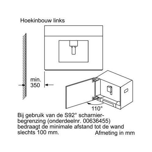 CT836LEB6 SIEMENS Inbouw koffiezetapparaat