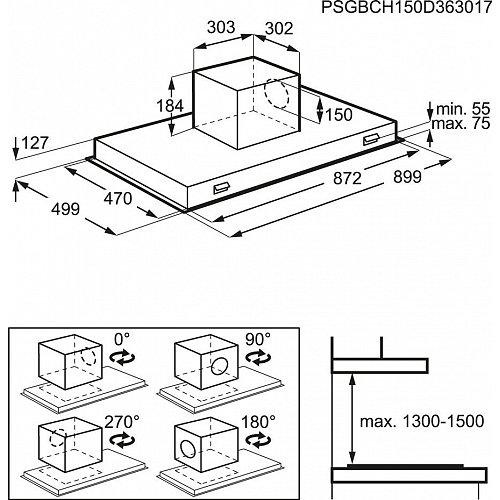 DCE5980HM AEG Plafondunit