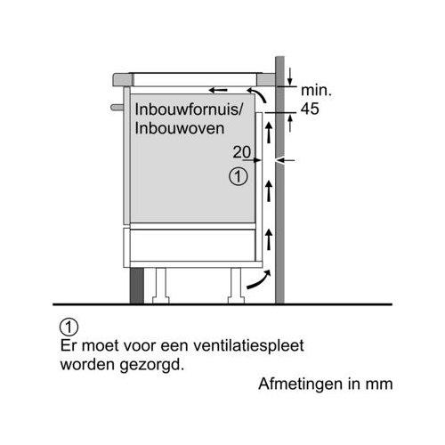 EH875MP17E SIEMENS Inductie kookplaat
