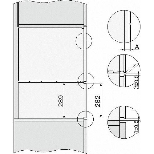 ESW7020OBSW MIELE Serviesverwarmer