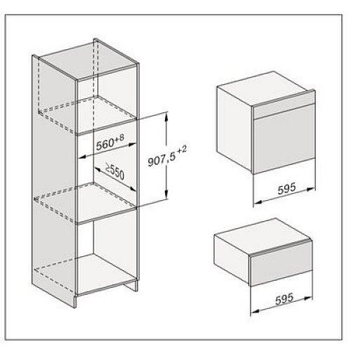 ESW7030OBSW MIELE Serviesverwarmer