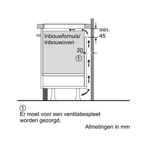 EX977KXX5E SIEMENS Inductie kookplaat