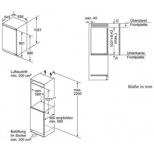 GIN31AC30 BOSCH Inbouw vriezer