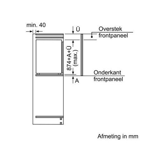 GIV21AF30 BOSCH Inbouw vriezer