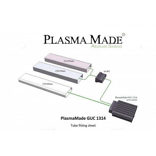 GUC1314 PLASMAMADE Inbouwunit afzuigkap