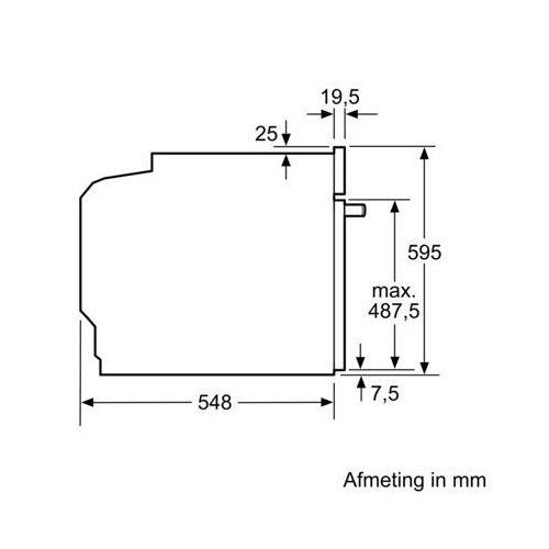 HB556ABS0 SIEMENS Inbouw oven