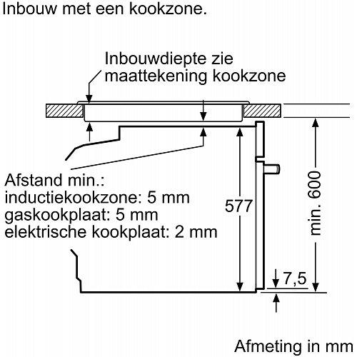 HB675GBS1 SIEMENS Inbouw oven