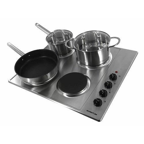 IKE6010RVS INVENTUM Keramische kookplaat