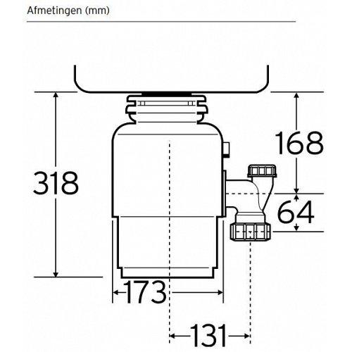 INSINK56 INSINKERATOR Keukenaccessoire