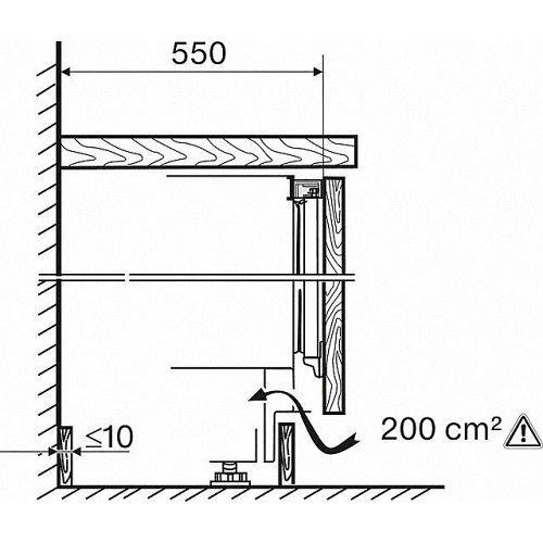 K31222UI MIELE Onderbouw koelkast