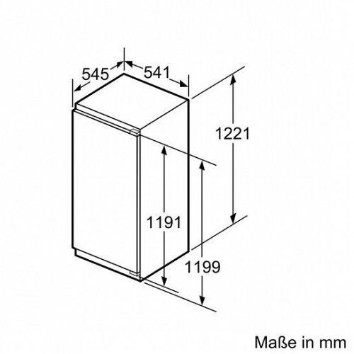 KI41RVF30 SIEMENS Inbouw koelkasten rond 122 cm