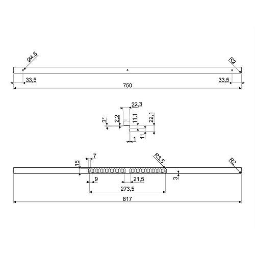 KIT600SNL9 SMEG Accessoire