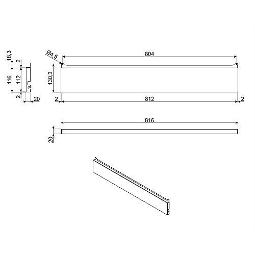 KITH95A1X SMEG Accessoire