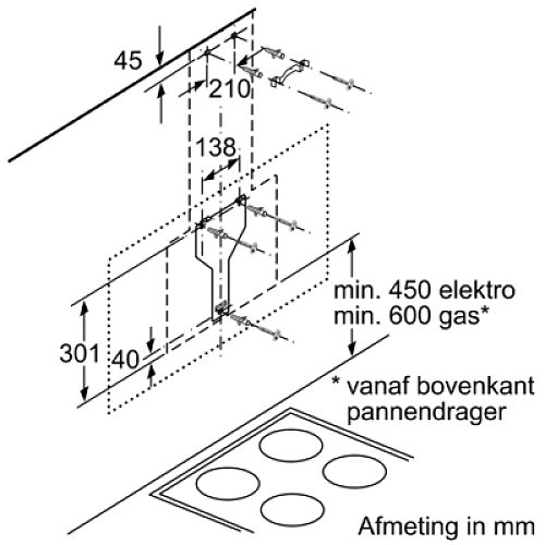 LC91KWP60 SIEMENS Schuine afzuigkap
