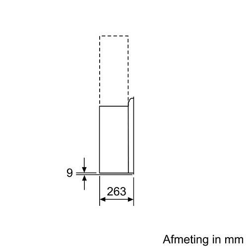 LC97FLR61S SIEMENS Schuine afzuigkap
