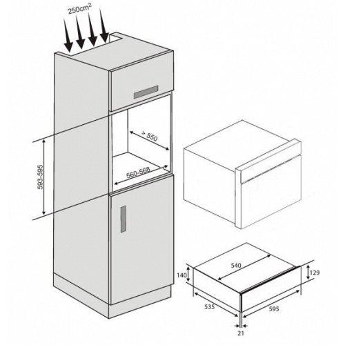 NL20J7100WBUR SAMSUNG Serviesverwarmer