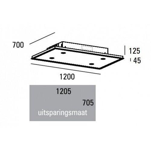 PA07127RZL ABK Plafond afzuigkap