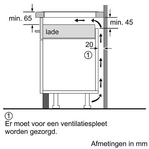 PVS651FB5E BOSCH Inductie kookplaat