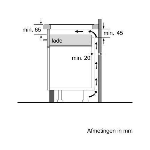 PXV995DV5E BOSCH Inductie kookplaat
