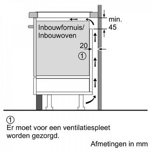 PXY895KX5E BOSCH Inductie kookplaat