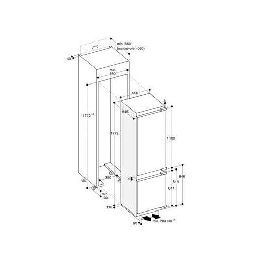 RB289203 GAGGENAU Inbouw koelkasten vanaf 178 cm