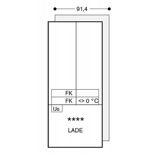 RY492304 GAGGENAU Side By Side koelkast