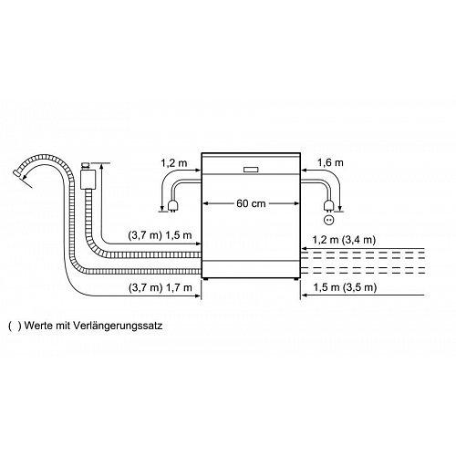 SMA88TD16E BOSCH Volledig geintegreerde vaatwasser