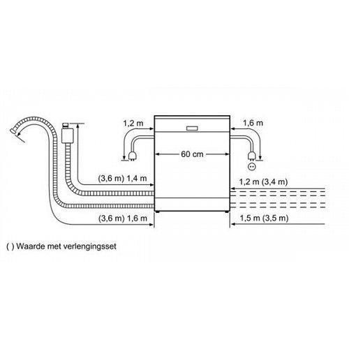 SX678X26TE SIEMENS Volledig geintegreerde vaatwasser