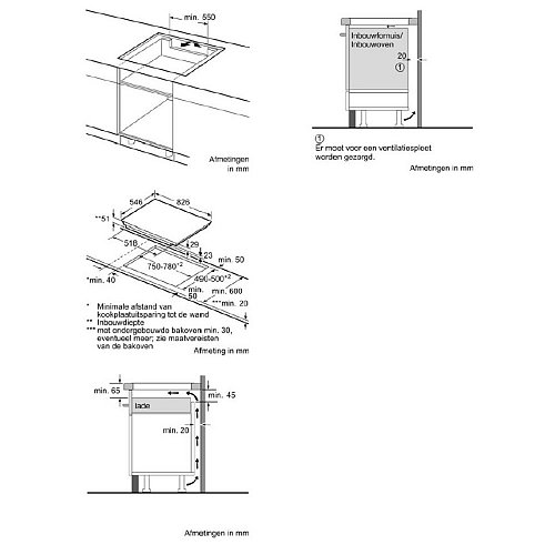 T68TF6RN0 NEFF Inductie kookplaat