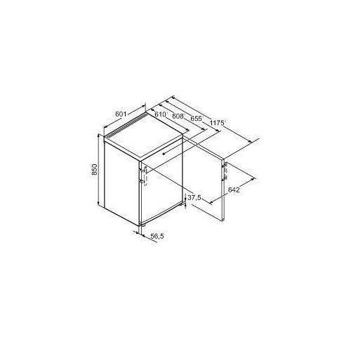 TPESF171021 LIEBHERR Vrijstaande koelkast