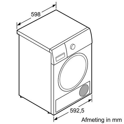 WT46G402NL SIEMENS Wasdroger