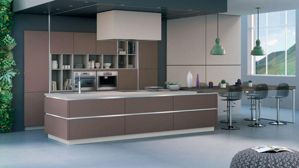 Moderne open keuken met kookeiland pictures car interior design - Open keuken m ...