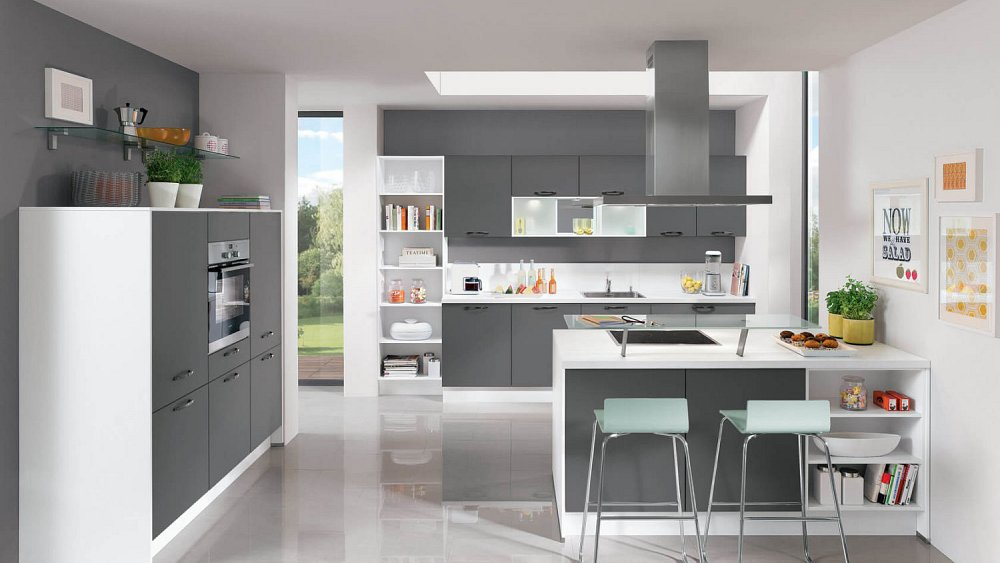 Moderne keukens met kookeiland beste inspiratie voor huis ontwerp - Keuken kookeiland ontwerp ...