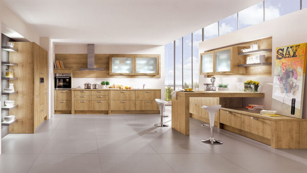 moderne keuken met bargedeelte  keukens op maat  keukenloods.nl, Meubels Ideeën