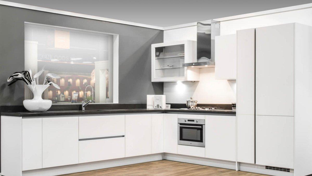 Showroomkeuken showroomkeukens for Beste 3d keukenplanner