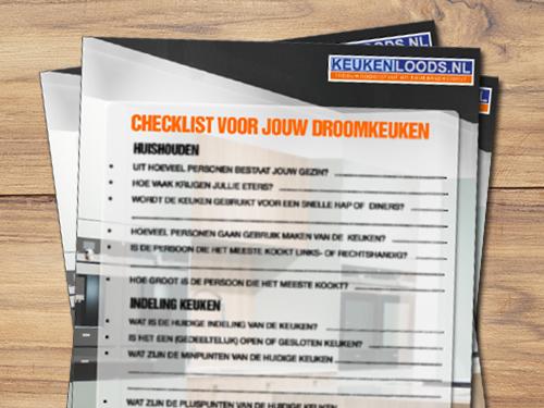 Vraag de checklist aan