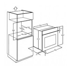 bp3003001m aeg multifunctionele solo oven. Black Bedroom Furniture Sets. Home Design Ideas