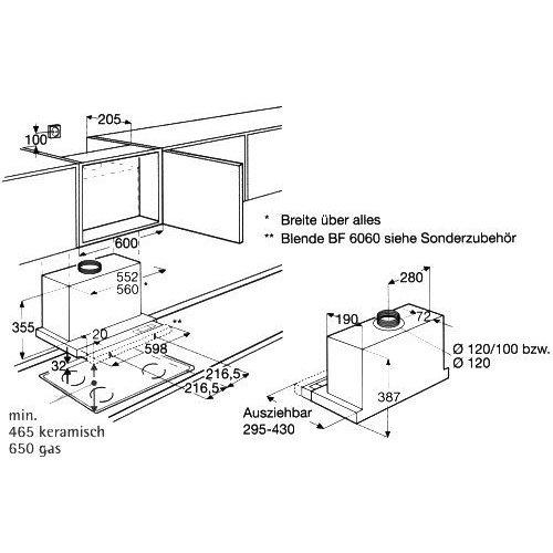 df6160ml aeg vlakscherm afzuigkap. Black Bedroom Furniture Sets. Home Design Ideas