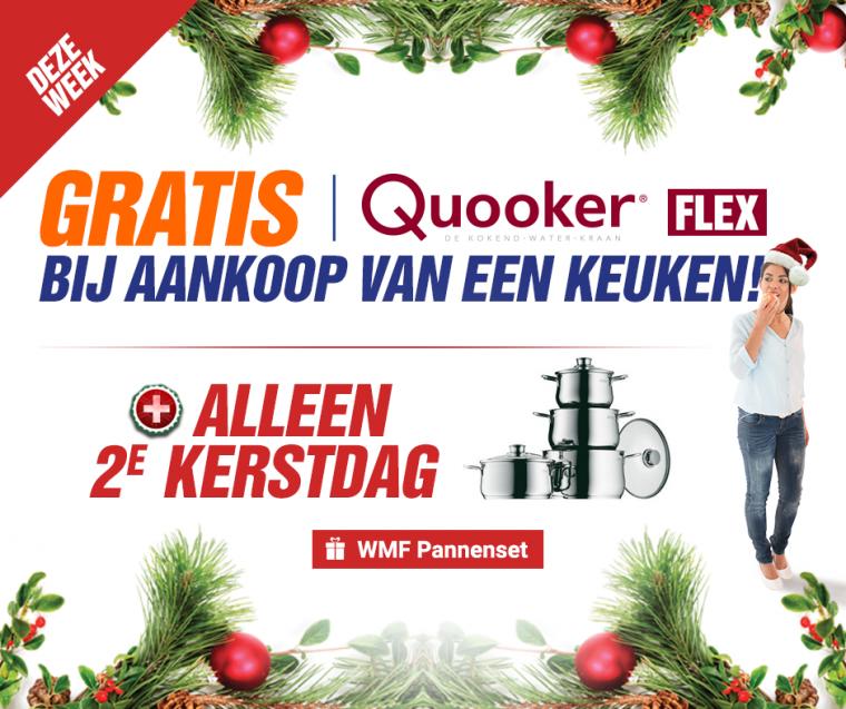 Keuken Met Gratis Quooker : Quooker Flex actie en WMF pannenset – Nieuws – Keukenloods.nl