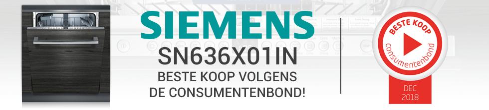 Siemens SN636X01IN beste koop volgens de consumentenbond