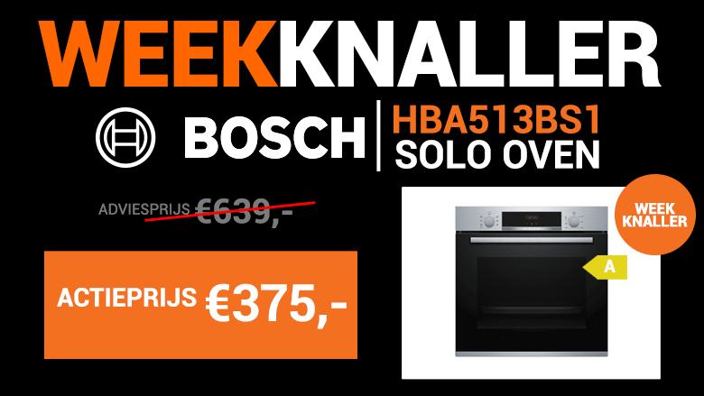 Weekknaller: De Bosch solo oven met 3D techniek