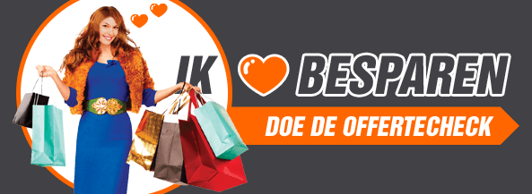 Doe de offertecheck & bespaar