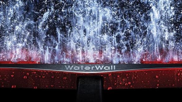Waterwall-technologie Samsung
