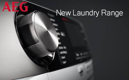 AEG New Laundry Range
