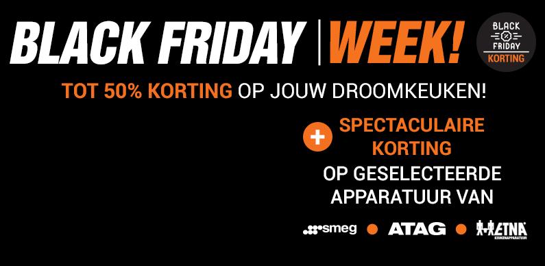 Black Friday Week! Spectaculaire kortingen op deze dinsdag!