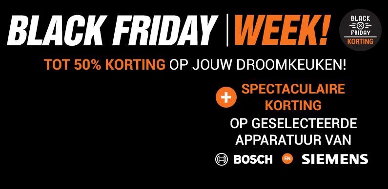 Black Friday Week! Spectaculaire kortingen op deze donderdag!